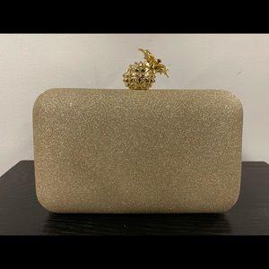 Ellian gold evening bag